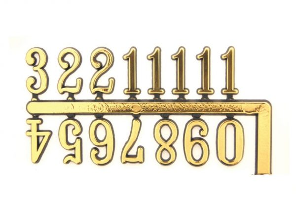 10mm Arabic Numerals Chinese Brand