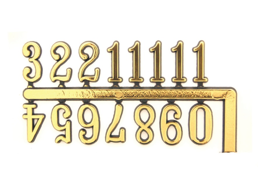 15mm Arabic Numerals Chinese Brand