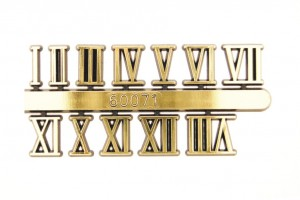 ROMAN 10mm Arabic Numerals