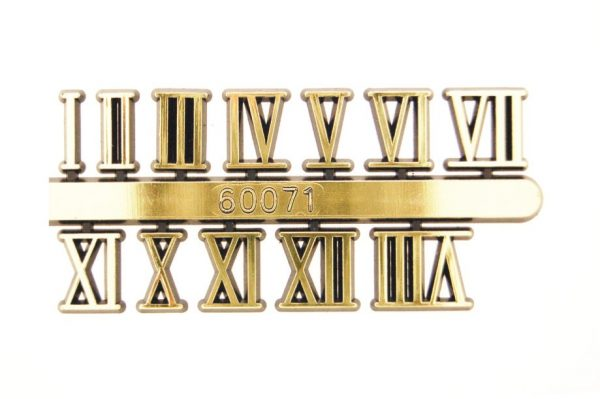 ROMAN 10mm Arabic Numerals Chinese Brand