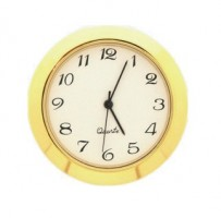 36mm Clock Insert WHITE ARABIC