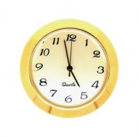 36mm Clock Insert GOLD ARABIC
