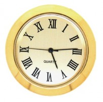 36mm Clock Insert GOLD ROMAN