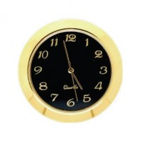 36mm Clock Insert BLACK ARABIC