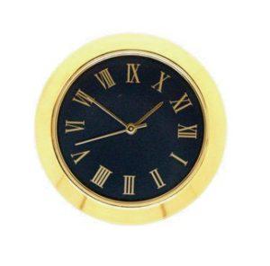 36mm Clock Insert BLACK ROMAN