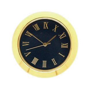 36mm Clock Insert BLACK ROMAN