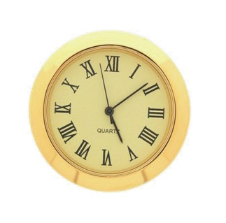 36mm Clock Insert CREAM ROMAN