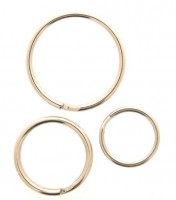 25mm Split Ring Per 100