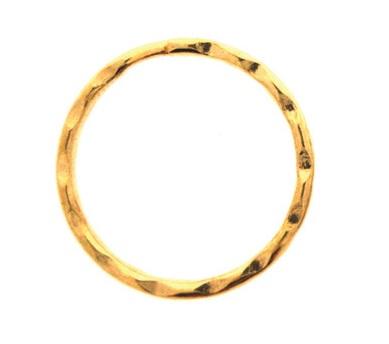 25mm Fancy Split Ring Nickle Per 100