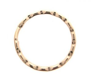 25mm Fancy Split Ring Gilt Per 100