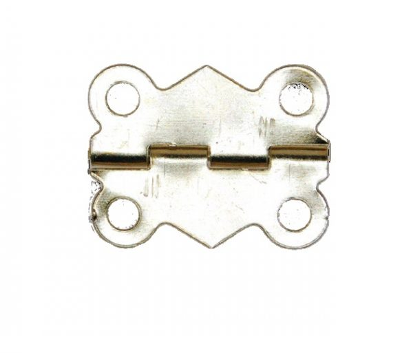 Brass Butterfly Hinge complete with Screws per piece