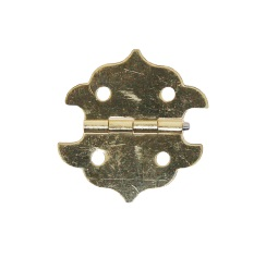 Brass Hinge complete with screws Per 100pc