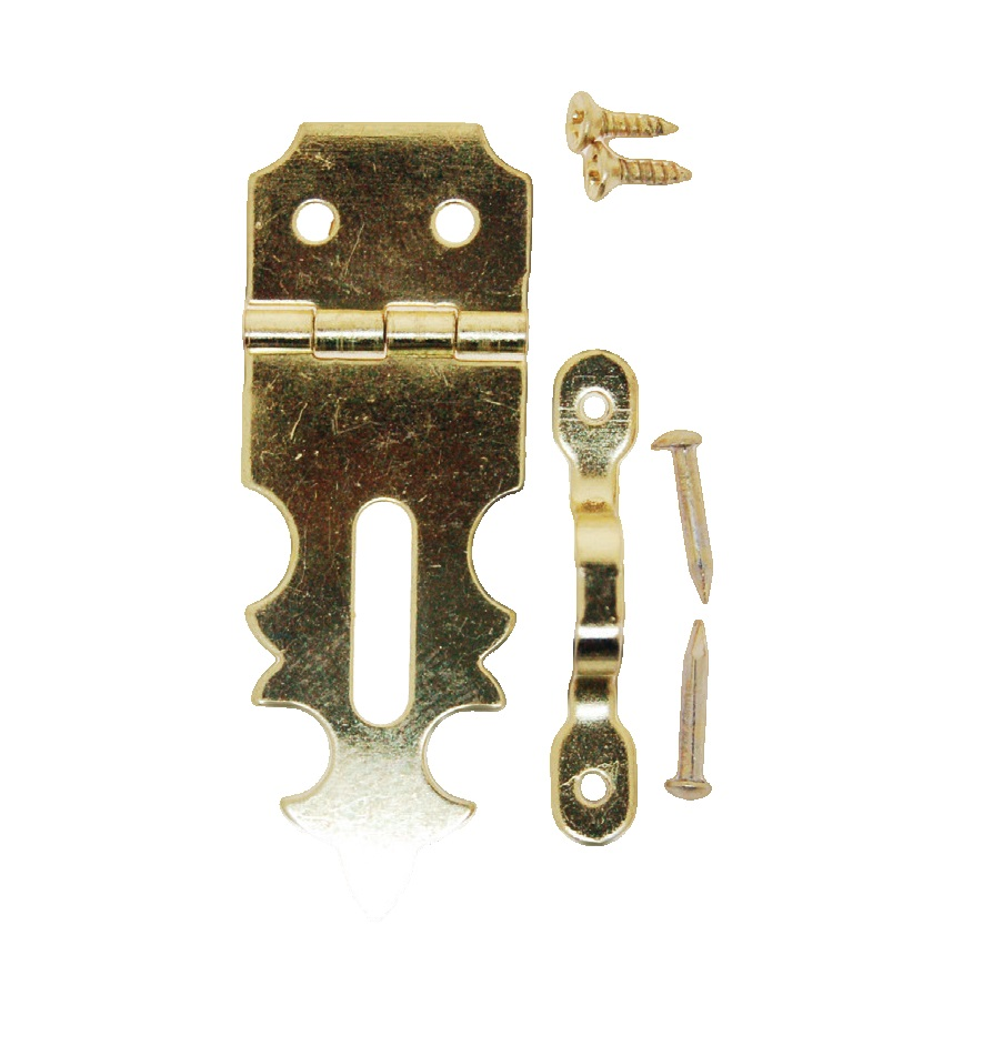 Hasp & Staple w/screws per piece