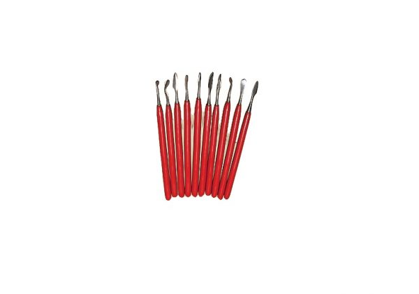 Wax Carver set  10 pc insulated handle