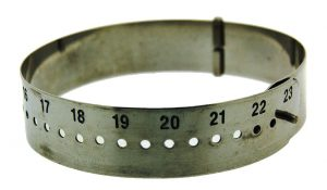Adjustable Bangle Sizing Gauge