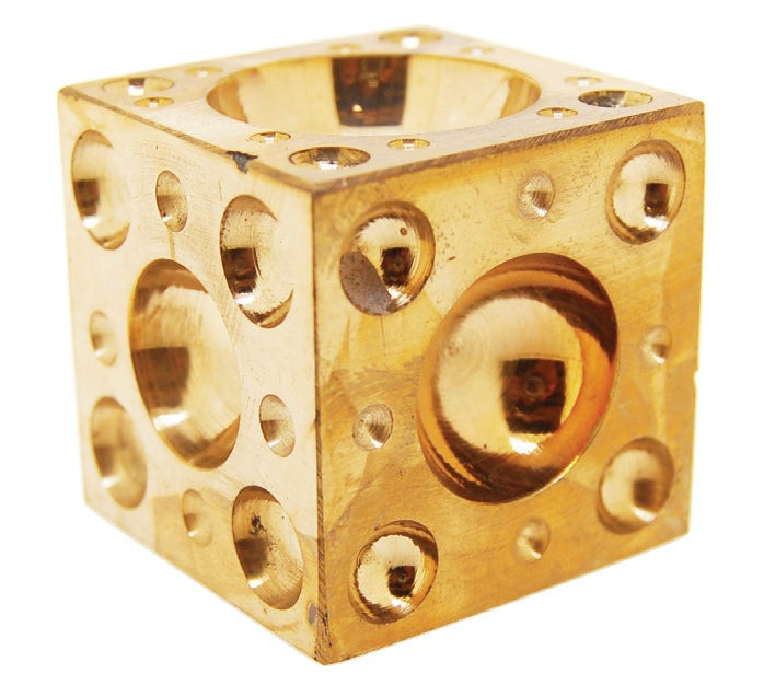 Brass Dapping Block
