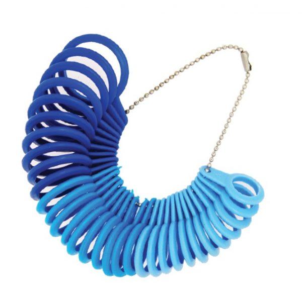 Plastic Multi-size Ring Sizer