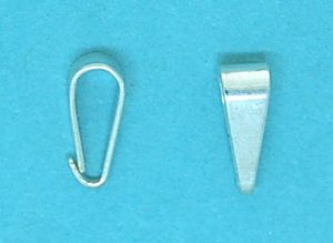 Open Bails Sterling Silver 3x8mm