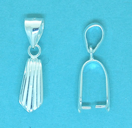 Pendant Bail Sterling Silver 7mm