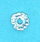 Space Bead 4mm Flower Shape Each