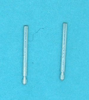 Sterling Silver Earpost with Groove