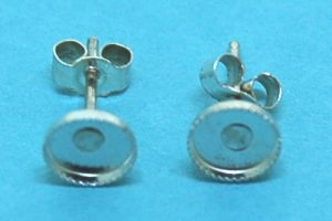 5mm Cab Setting Earstud