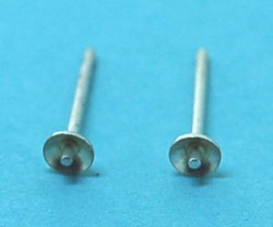 3mm Sterling Silver Earstud