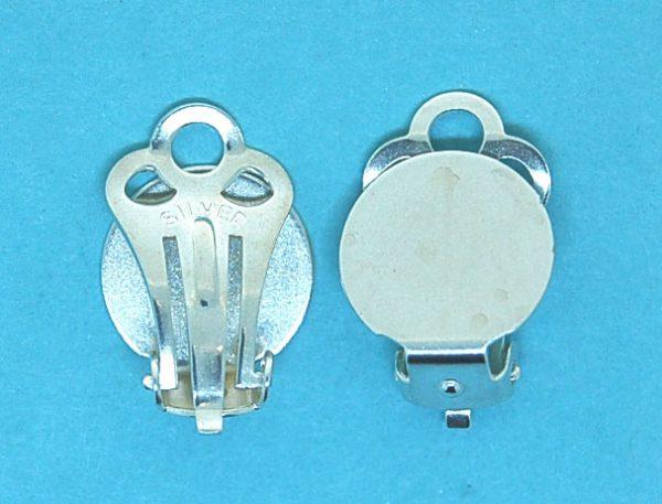 Stirling Silver Clip-on Earfitting