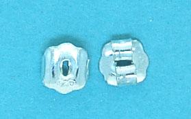 Sterling Silver Butterfly 4x5mm