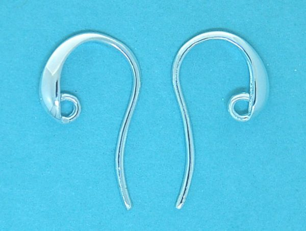 Earwire Sterling Silver Open -Tapered Wire