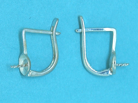 Ear Pin Clip with 6mm Cup & Pin