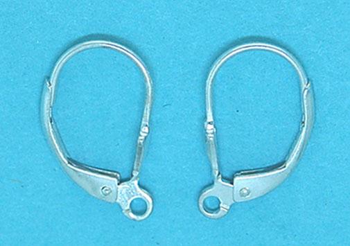 Leaver Back Earring Fancy 17x10mm
