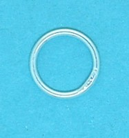16mm Sterling Silver Jump ring (Closed)