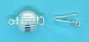 Ball Safety Clasp 10mm Corrugated