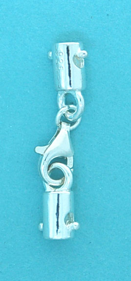 Cord End with Parrot Clasp 3x7mm