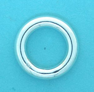 Hollow Ring Sterling Silver 4x20mm