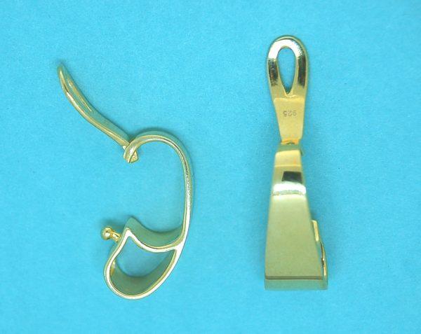 Enhancer 9x24mm Sterling Silver