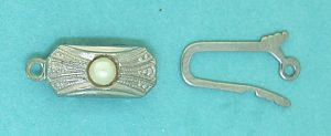 Pearl Clasp Sterling Silver 18.5mm