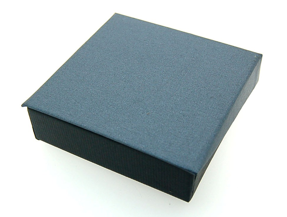 Pendant Box | Black and Grey (close)