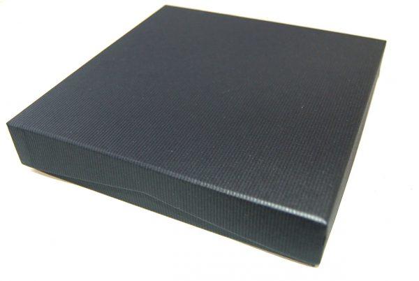 Necklet Box | Lift off Lid | Black