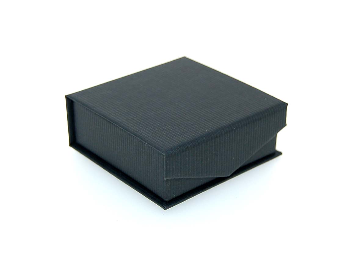 Small Pendant/Earring Box | Black