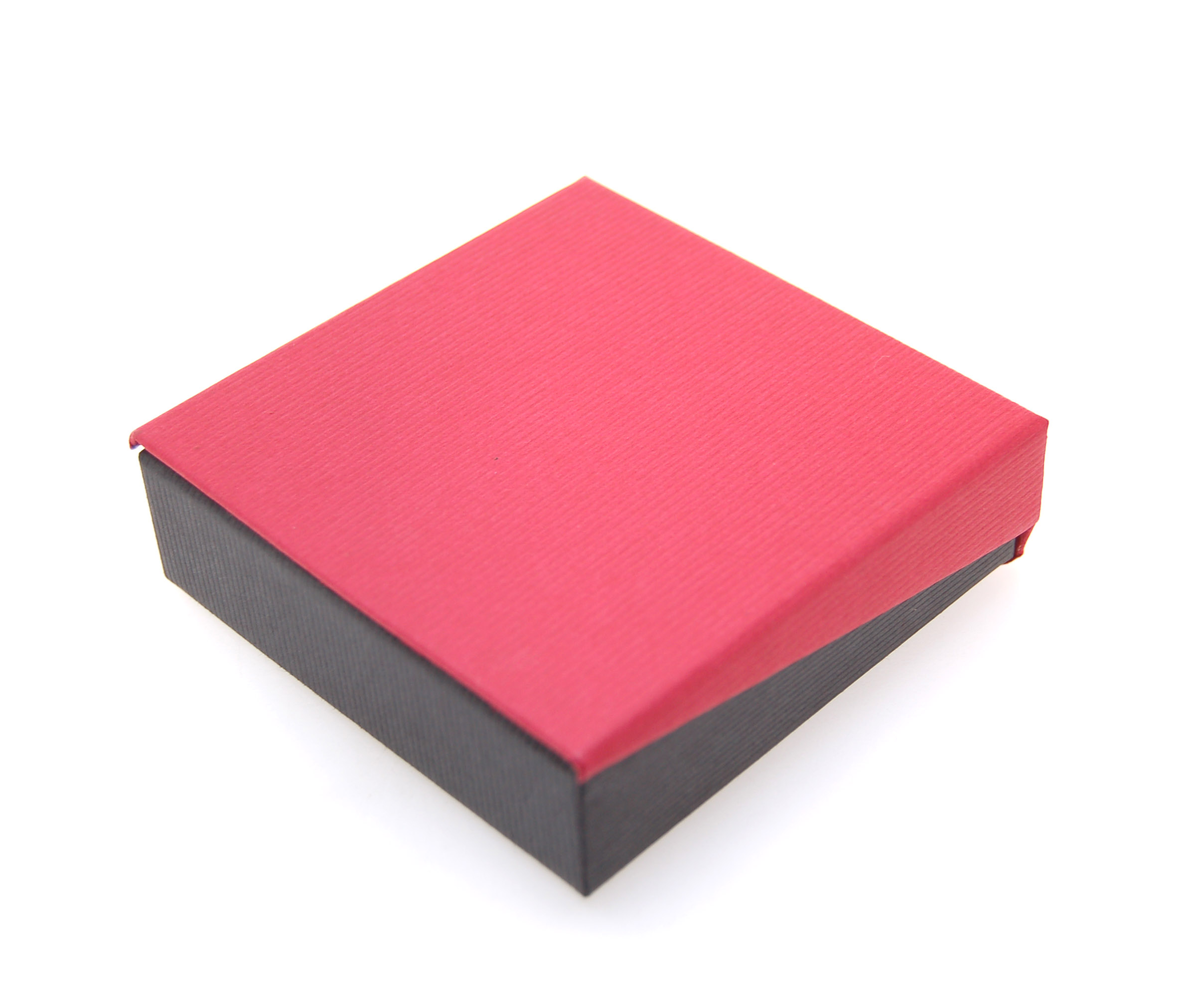 Pendant Box | Black and Red