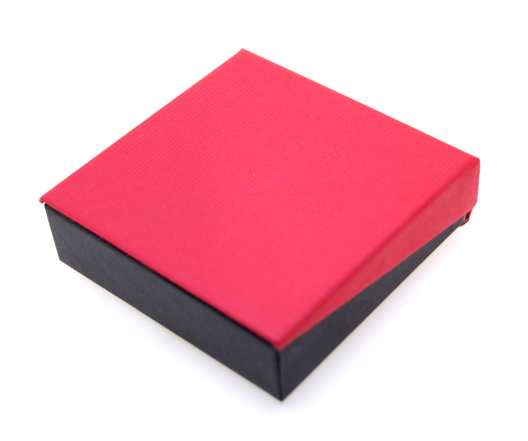 Pendant LRG Earrings Box | Black and Red