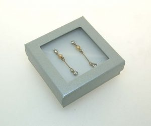 Pendant/Earring Window Box | Silver