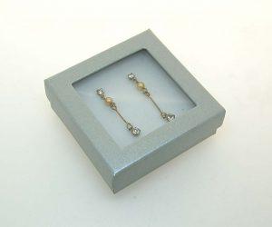 Pendant/Earring Window Box | Silver