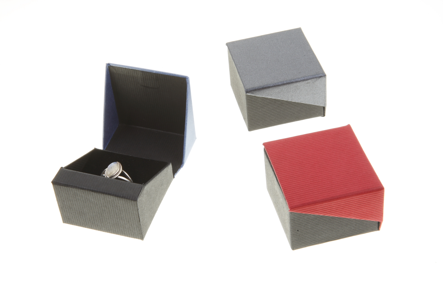 Ring Box | Black and Grey (All)
