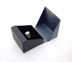 Ring Box | Black and Grey