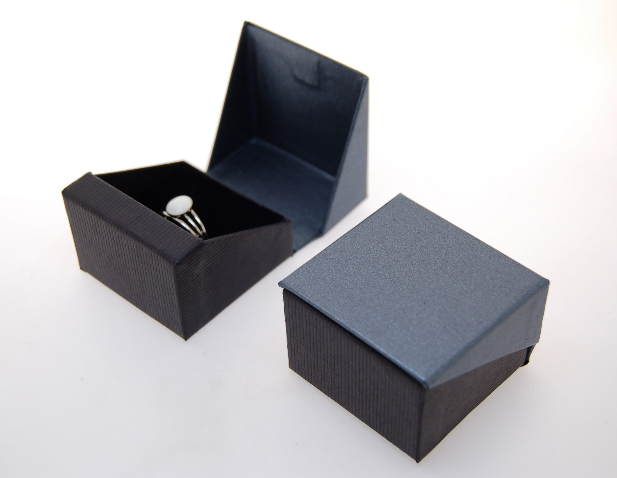 Ring Box | Black and Grey (Together)