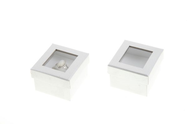 Window Ring Box | Silver