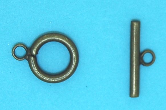 Bar for Toggle | Antique Brass